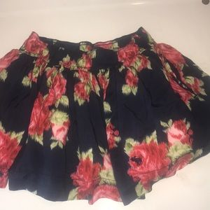 Abercrombie and Fitch floral skirt